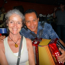 Heather with Nenitio Vargas 2011