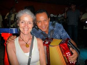 Heather with Nentio Vargas 2011