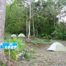 TEA girls camp site
